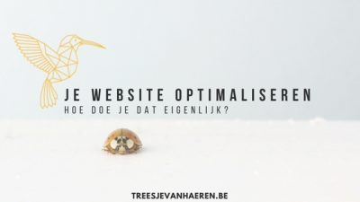 Website optimaliseren